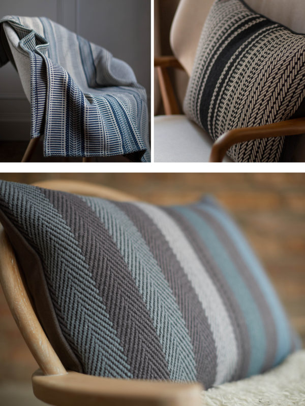 Roger Oates Lifestyle: Cushions and Throws