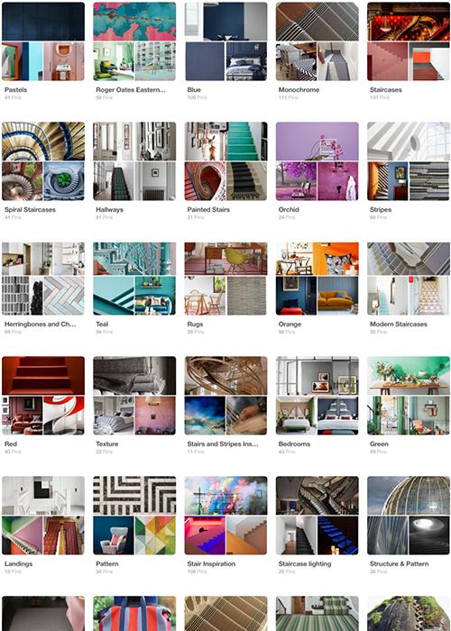 The Interest of Pinterest