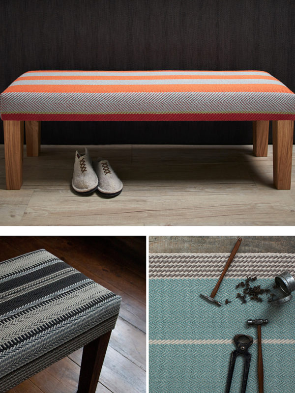 Roger Oates Lifestyle: Upholstered Benches