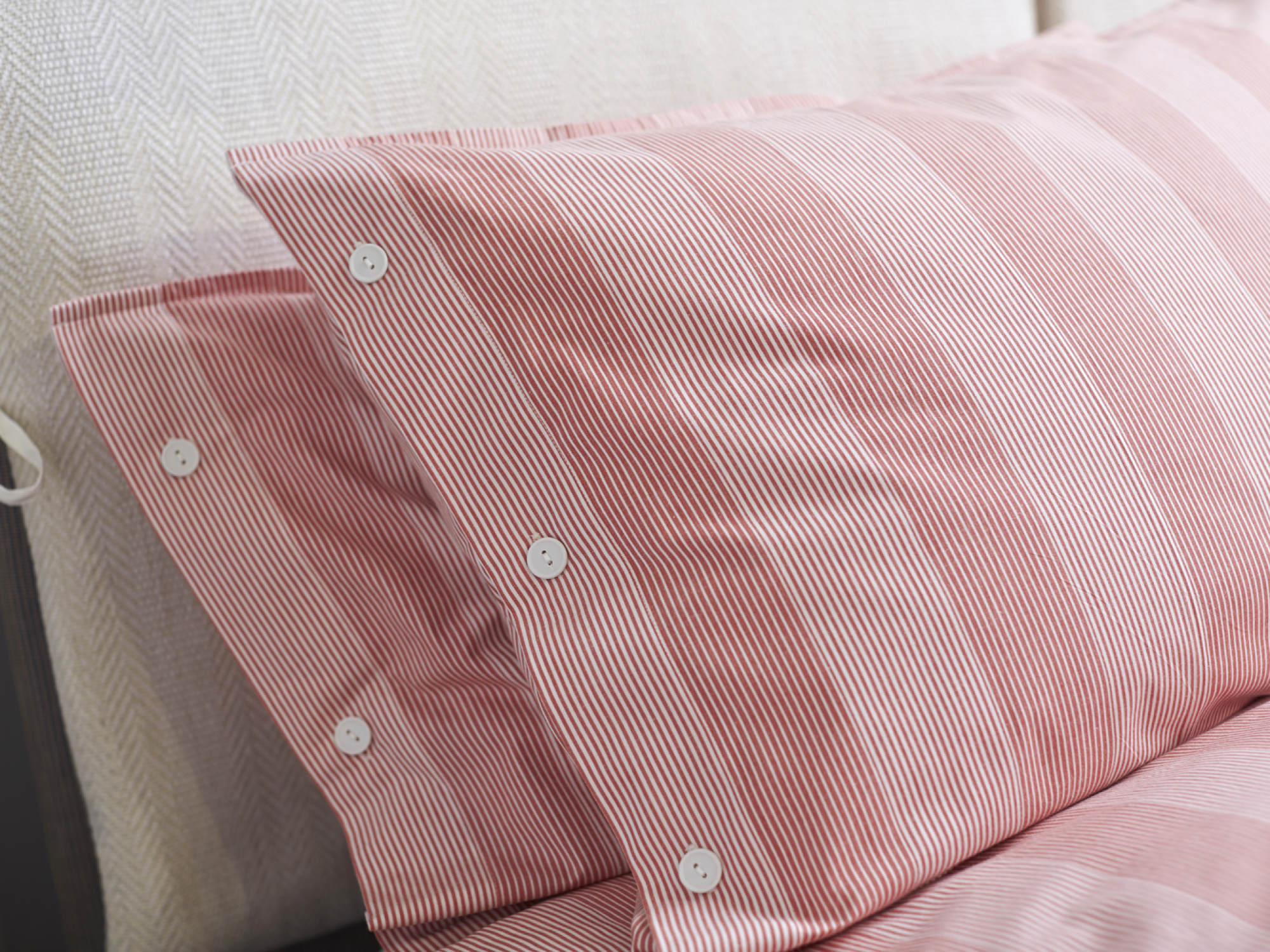 Troy Rouge Bed Linen