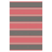 Whitman Soft Black & Light Red (Rug)
