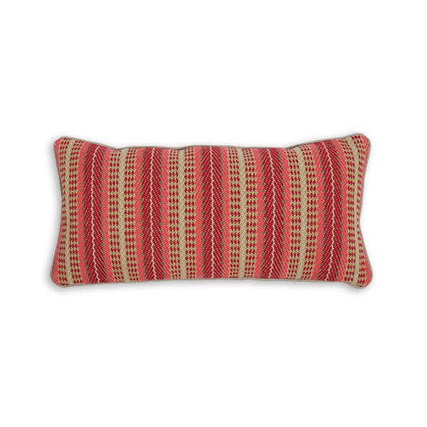 Flatweave Cushion, Vernon Soft Red